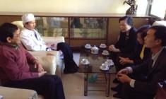 Ban giám hiệu Trường Trung cấp Y Dược Lê Hữu Trác làm việc tại tỉnh Lâm Đồng