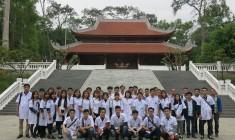 BCH Đoàn thanh niên nhà trường và học sinh K10 tham quan Khu di tích lịch sử Đá Chông K9